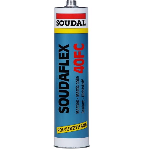 Soudal SOUDAFLEX 40FC PU Bonding Construction Adhesive Concrete Floor Sealant